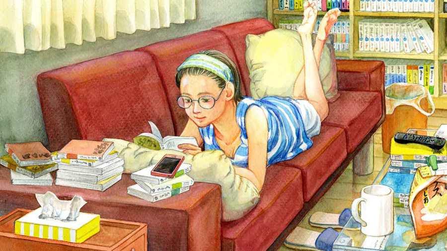 Binge reading